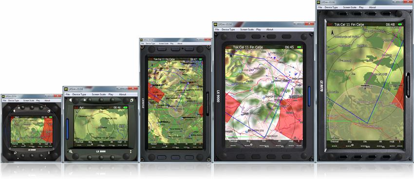 la gamme des LX8000 et 9000