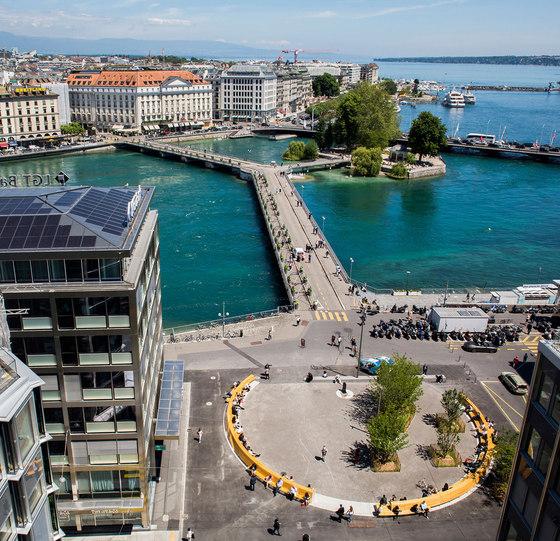 Le nouvel aménagement de la Place du Rhône