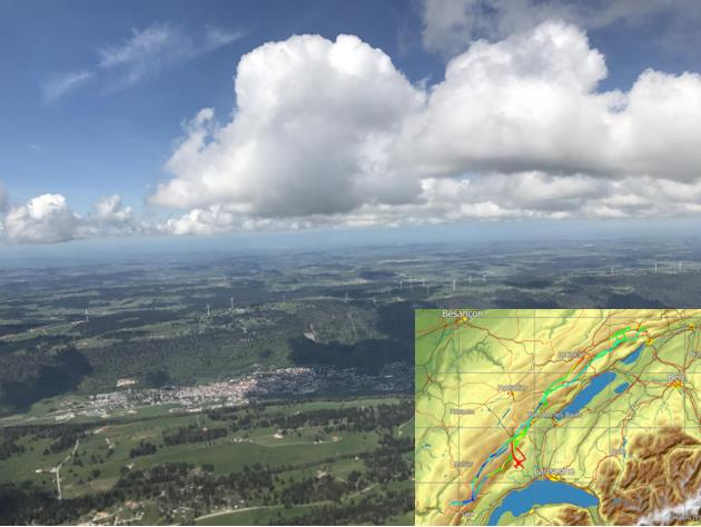 Photo des Eplatures du 15 mai 2017 - 316km à 71km/h de moyenne (photo Aurélien BERNER)