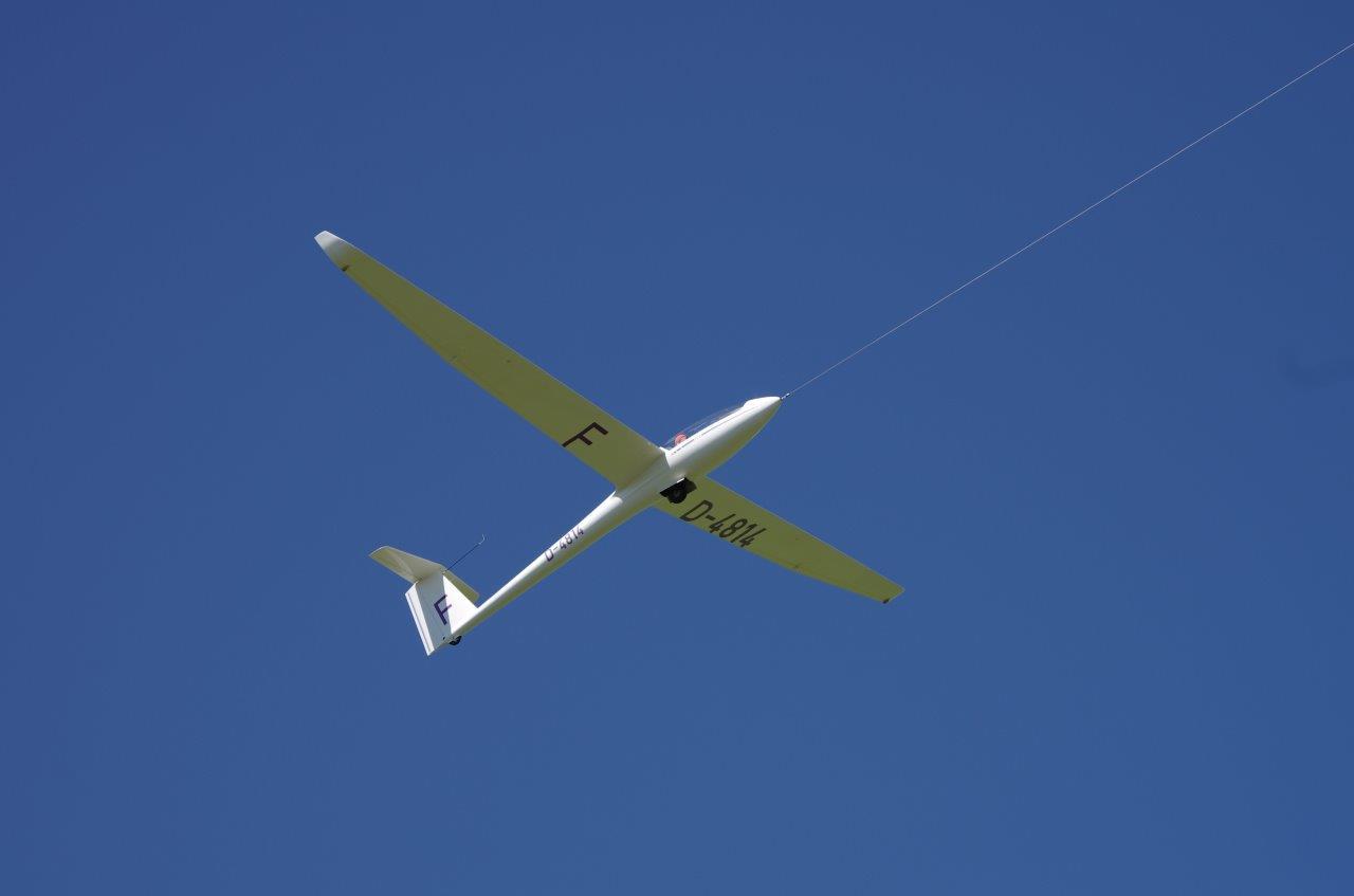 Planeur LS8-18 D-4814 F du GGVVM
