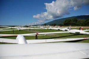 GGVVM - compétition de planeurs à Montricher